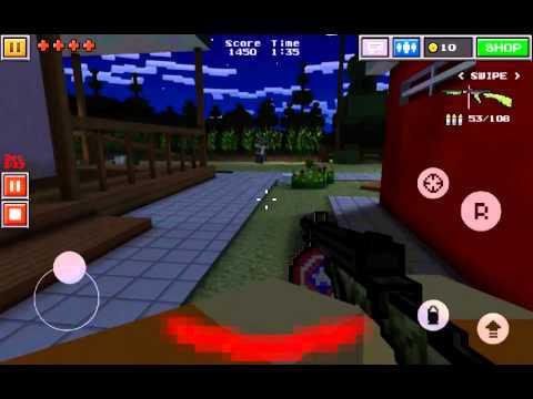 Pixel Gun 3D - Multiplayer Shooter gameplay!