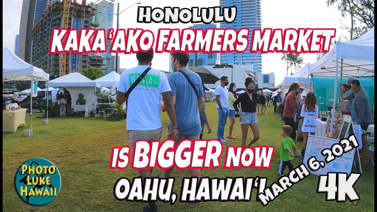 Kakaako Farmers Market is Bigger Now March 6, 2021 Hawaii Farmers Markets