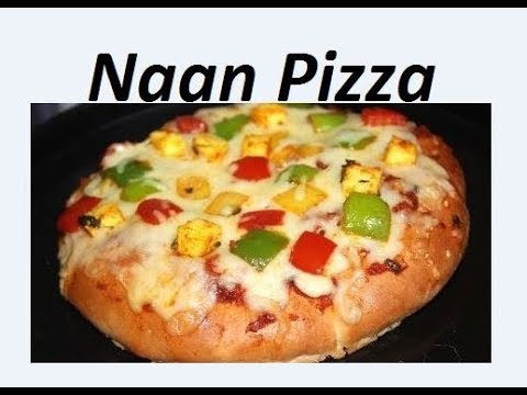 नान पिज़्जा की रेसिपी जो आप एक बार बनेयेंगे तो बार बार खाएंगे / Naan Pizza recipe by Raks HomeKitchen
