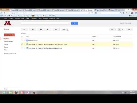 Convert Microsoft Word document for Google Drive editing and commenting.