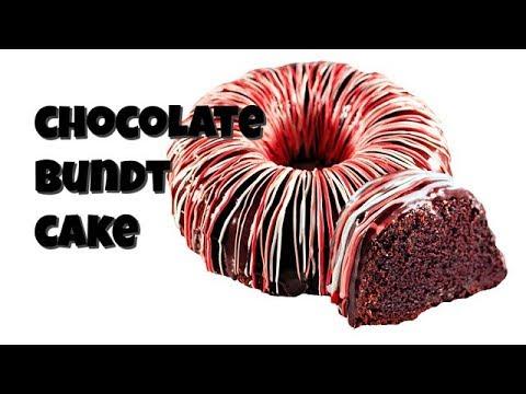 Chocolate Bundt Cake for Valentine's Day || Gretchen's Vegan Bakery