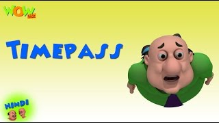 Time Pass | Motu Patlu in Hindi WITH ENGLISH, SPANISH & FRENCH SUBTITLES