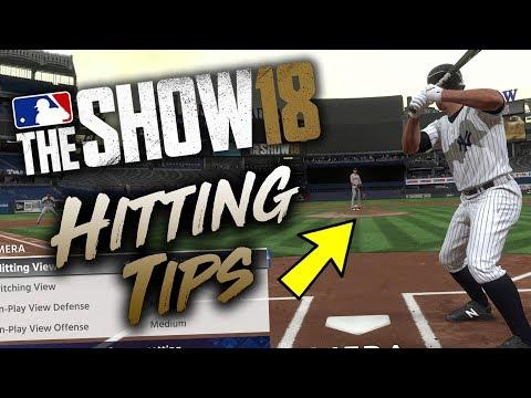 Best Hitting Tips MLB The Show 18 (Tutorial & Tips)