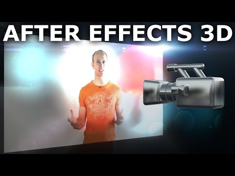 Adobe After Effects Basics Tutorial 8/8 - 3D