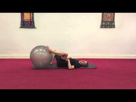 Gym ball routine to release hips, spine and shoulders - with Danny Bridgeman