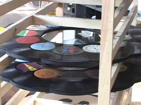 Using Vinyl Records to Produce Art
