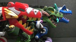 Power Rangers Dino Thunder T-Rex Megazord Toys  파워레인저 다이노썬더 썬더킹 장난감 로봇 변신