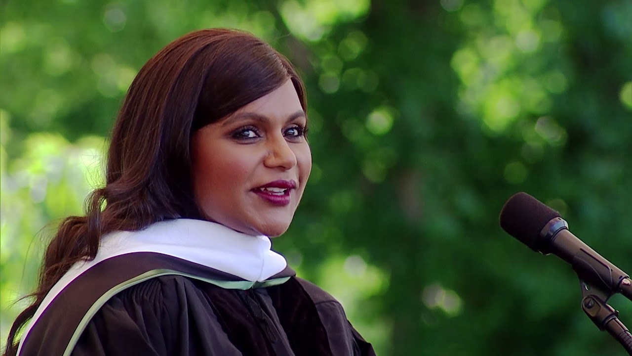 Dartmouth's 2018 Commencement Address by Mindy Kaling '01