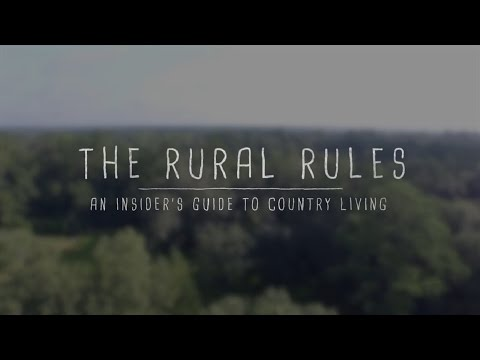 The Rural Rules: An insider's guide on how to buy land