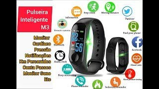 M3 intelligence Bluetooth health wrist smart band watch