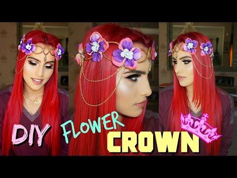 DIY FLOWER CROWN ♕