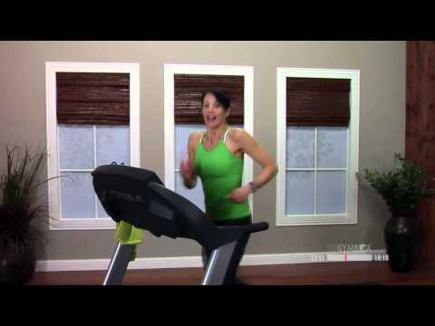 Treadmill workout routines with Stefanie  30 Minutes