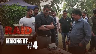 Making of Raid 4 || Ajay Devgn | Ileana D