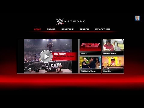 Exploring the WWE Network on the Xbox One
