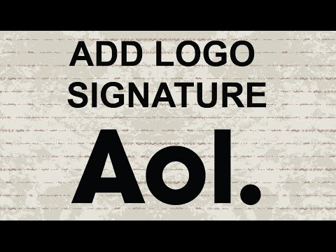 How to add an image or logo in AOL Mail Signature