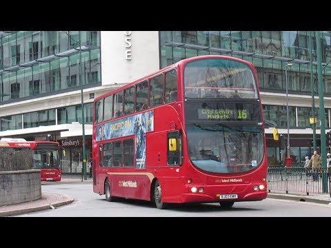 Buses Trains & Trams in Birmingham - March 2018