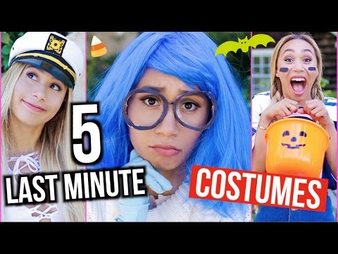25 BEST Last Minute Halloween Costumes!! 2015