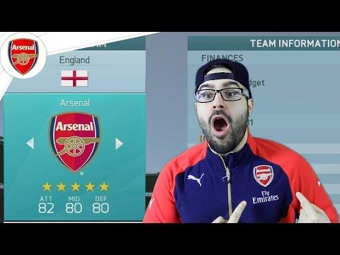 Arsenal New Manager!! - FIFA 16 Arsenal Career Mode #01