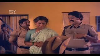 Police and His Friends Rapes and Kills Poor Women   Aahuti Kannada Movie Scene