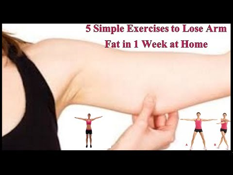 5 Simple Exercises to Lose Arm Fat in 1 Week at Home