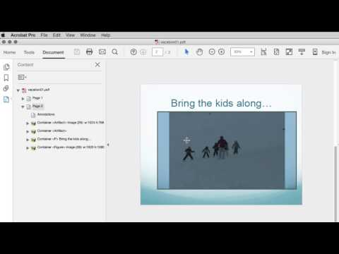 Modify Mac PowerPoint Files with Movies in Acrobat DC