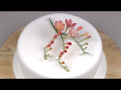 How to Make .: A Freesia