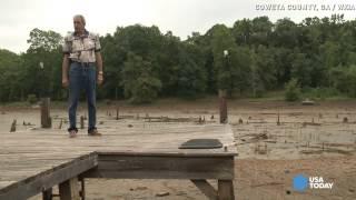 Lake disappears overnight, neighbors blame rainstorms