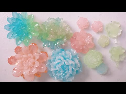 Tutorial - Chinese Hair Accessories Resin Flowers
