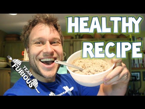 HEALTHY HIGH PROTEIN OATMEAL RECIPE (COOKING W/ PETE) | Furious Pete Talks