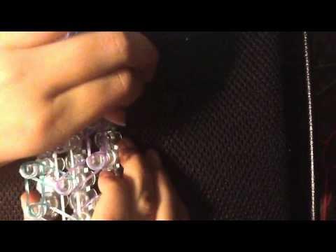 Loopy loop rainbow loom bracelet tutorial