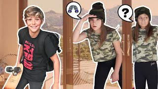 SPYING On My CRUSH in PUBLIC Challenge **CAUGHT** 🔎💯| Piper Rockelle