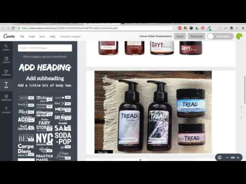 Canva 101: How to make quick, easy designs for labels, packaging, marketing, etc. (that look good)!