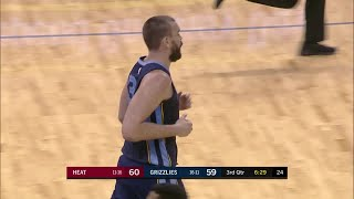 3rd Quarter, One Box Video: Memphis Grizzlies vs. Miami Heat