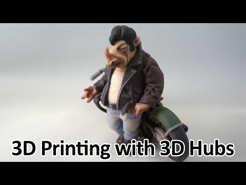 Getting your work 3D printed through 3D Hubs