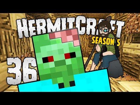 HermitCraft 5 - #36   Investigating the ZOMBIE BRAIN! [Minecraft 1.12]