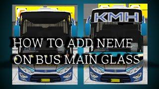 Bus Simulator Indonesia Skin Kerala