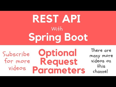 REST API with Spring Boot - Making Query String Request Parameter Optional