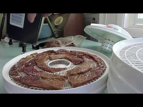 Making Beef Jerky at Home with a Nesco Dehydrator