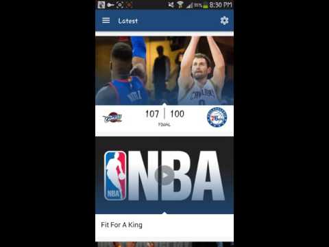 How to watch NBA games free (Android) rooted