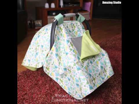 DIY Waterproof Car Seat Canopy