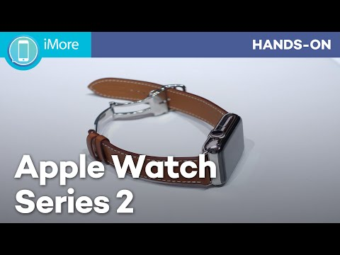 Apple Watch Series 2 hands on!