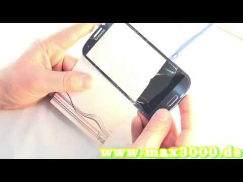 Samsung Galaxy S3 i9300 Touchscreen Displayglas Austausch Reparatur wechseln Touch Repair1