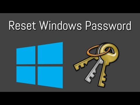 Reset Administrator Password Of Windows 7/8/10 all version support