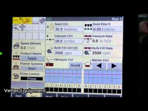 Vetter Equipment, Seed Calibration, Case IH, Planter