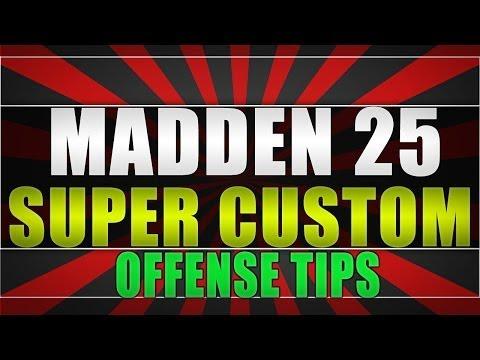 Madden 25 | SUPER CUSTOM PLAYBOOK | Glitch offense | Madden 25 Offense Rush attack