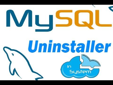 Desinstalar MySQL por completo