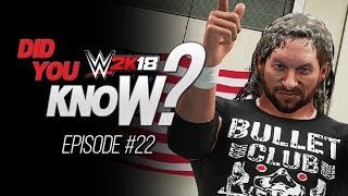 WWE 2K18 Did You Know?: Free DLC Taunts & Poses, Unique Reversal & Hidden Entrance (Episode 22)