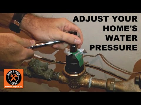 Test and Adjust Your Home's Water Pressure -- by Home Repair Tutor