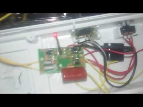 Bell and howell light bar DC mod part 2