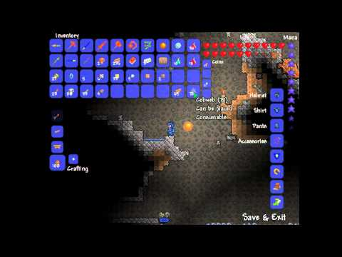 Terraria - How to set a new spawn point - Tutorial #1